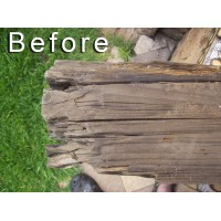 Wood Restoration Before